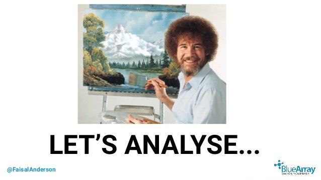 @FaisalAnderson LET'S ANALYSE...