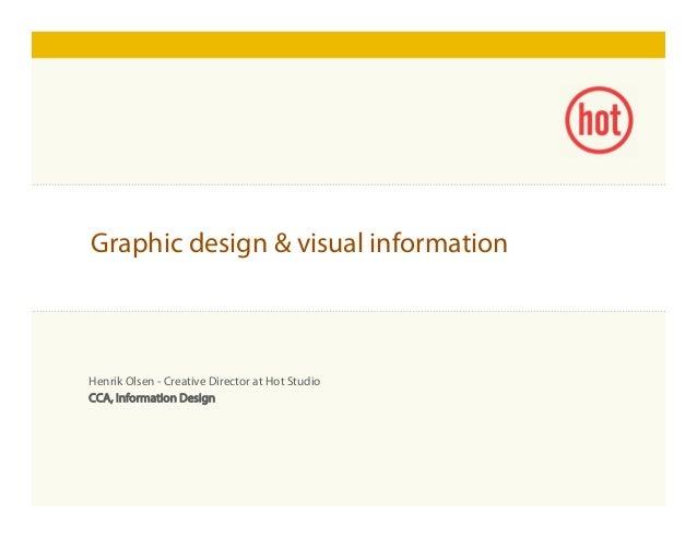 Click to edit Master title style Henrik Olsen - Creative Director at Hot Studio CCA, Information Design Graphic design & v...