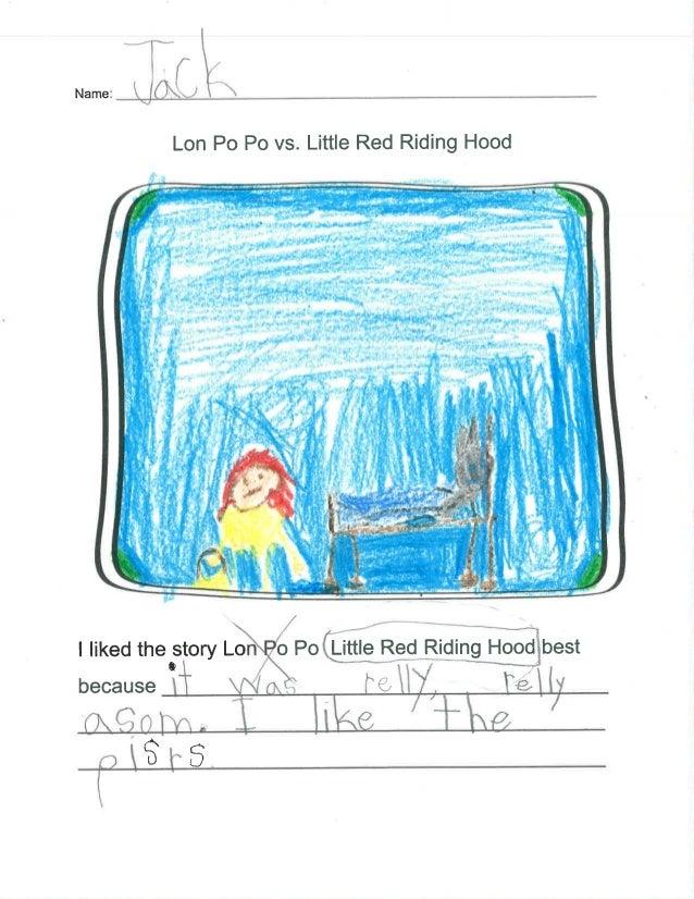 """Lon P0 P0 vs.  Little Red Riding Hood  f.  . it . ; ll .   l ' l. """"' ' I l'l  I 'l i  ll I I » .  i ii,  . l~  .  l l.  l ..."""