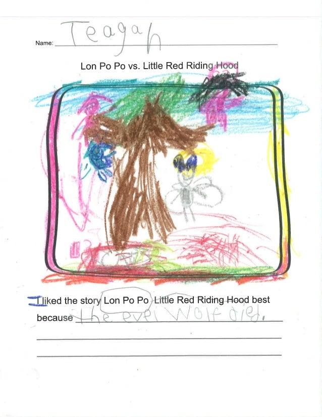 "Name:      Lon Po Po vs;  Little Red Riding-Hood  ,  .Ll. '~"". '.'. ; : ''J»'*' . 'A: *''' ' v ' MN'.                '; ',..."