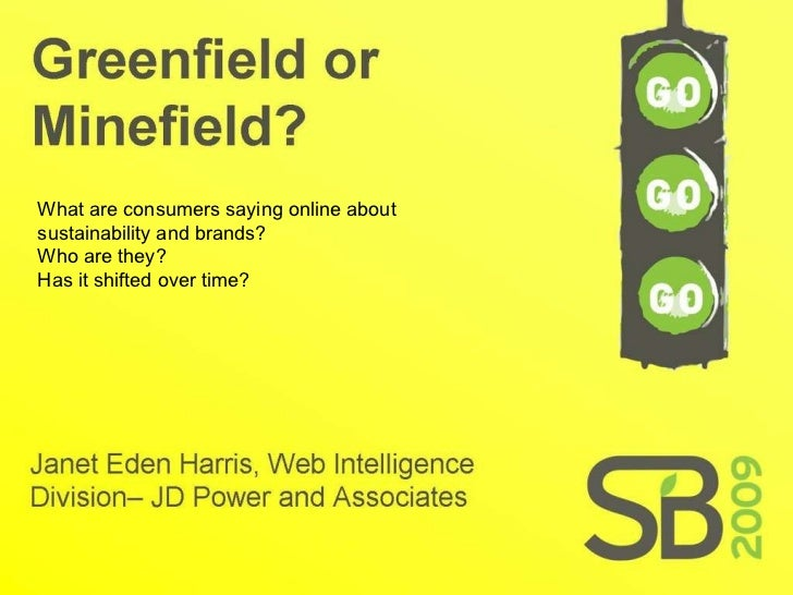 What are consumers saying online about sustainability and brands?  Who are they?  Has it shifted over time?