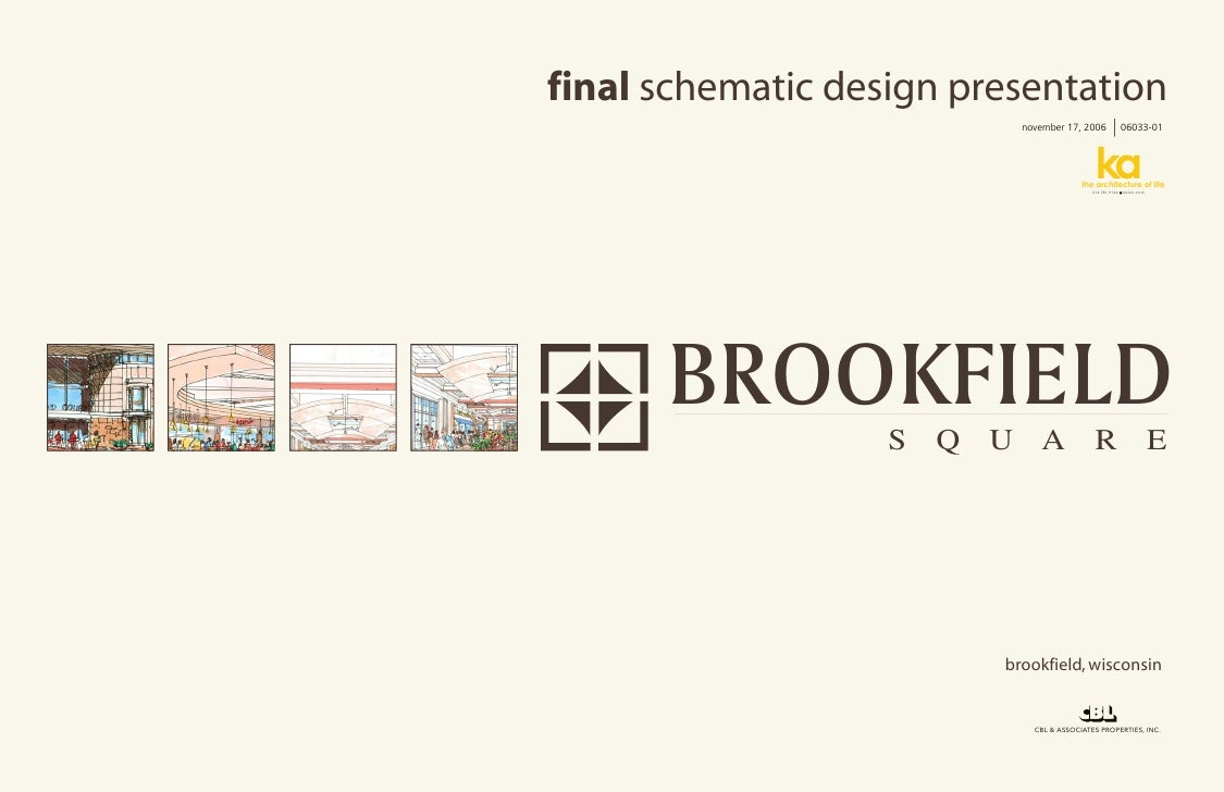 Brookfield Square - final design composite