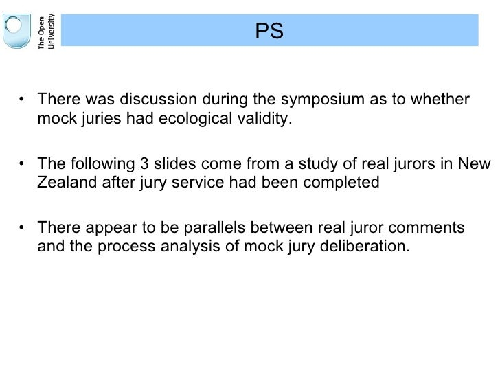 Pre-recorded evidence and juror decision-making: evidence review - research findings