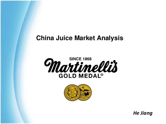 China Juice Market Analysis He Jiang