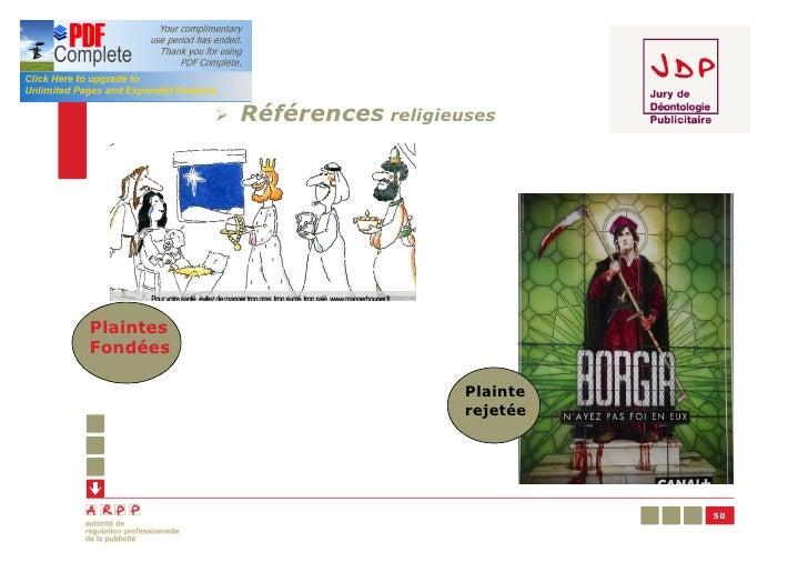 Ø   Références religieusesPlaintesFondées                                  Plainte                                  rejeté...
