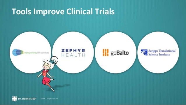 © 2014 - All rights reserved. Tools Improve Clinical Trials