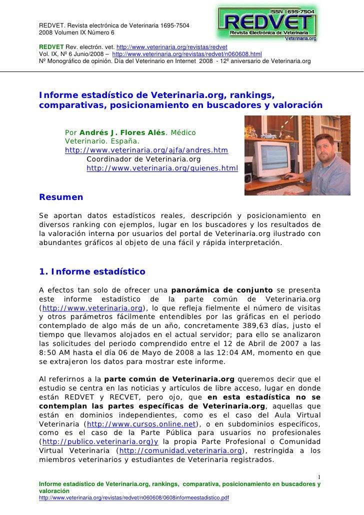 REDVET. Revista electrónica de Veterinaria 1695-75042008 Volumen IX Número 6REDVET Rev. electrón. vet. http://www.veterina...