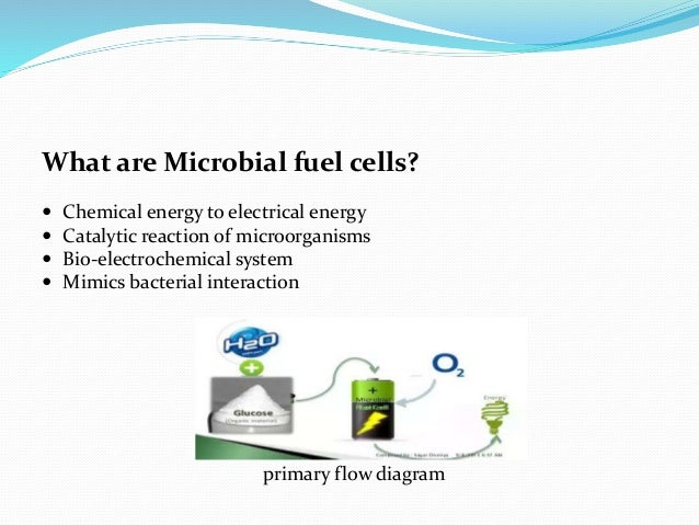 MICROBIAL FUEL CELLS-PPT