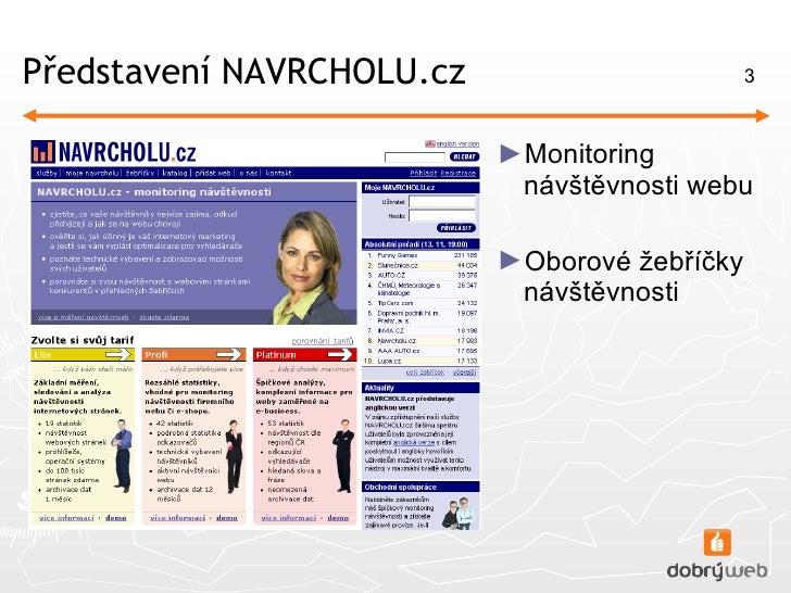 Uživatelské testování webu NAVRCHOLU.cz Slide 3