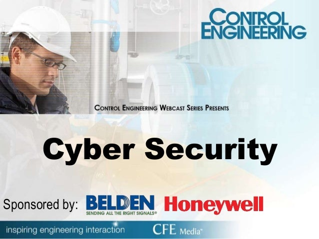 Cyber Security Sponsored by: