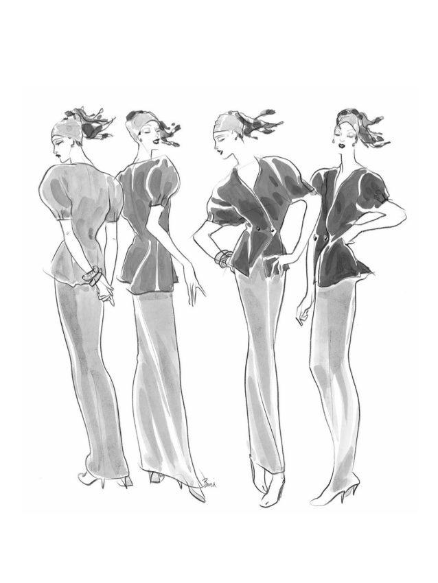 Éuma honra apresentar o Desenho de moda de Bina Abling. É um excelente trabalho de uma excelente artista e designer. Ex-al...