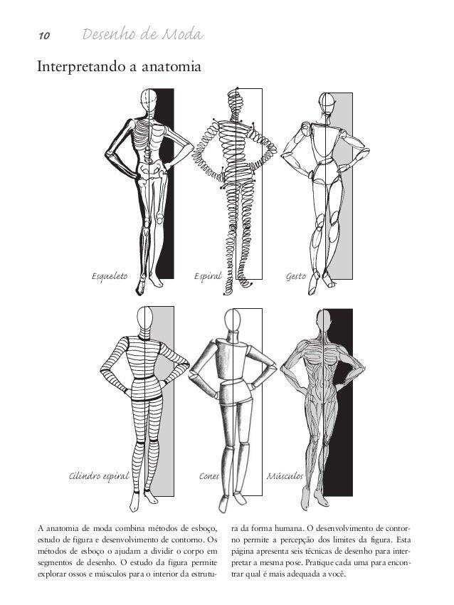 Proporções da figura humana 11 Fim do tronco Fêmur Joelho: patela Fíbula Tíbia Combinar um esqueleto simplificado com uma ...