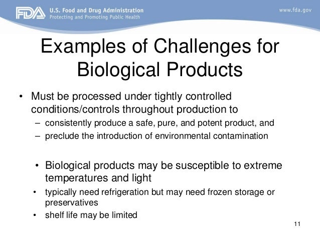 fda biologics biological presentation examples drug challenges biotechnology