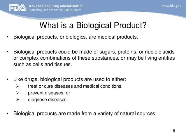 biological biologics fda presentation