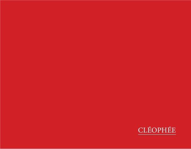 CLÉOPHÉE