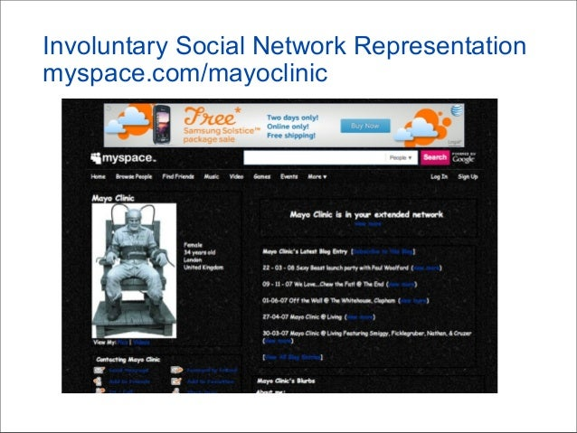 Three Themes • Social networking is an essential human activity • You have unprecedented opportunities through innovative ...