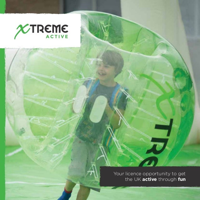Your licence opportunity to get the UK active through fun