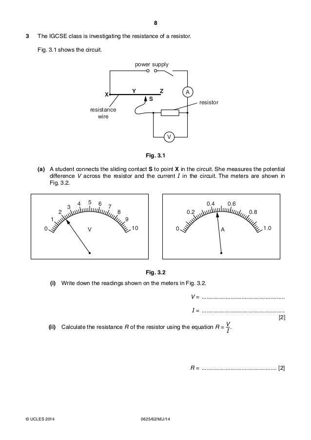 igcse physics paper 6 Physics igcse 2012 exam revision notes by samuel lees and adrian guillot 16 energy work power a energy so should not touch the paper.