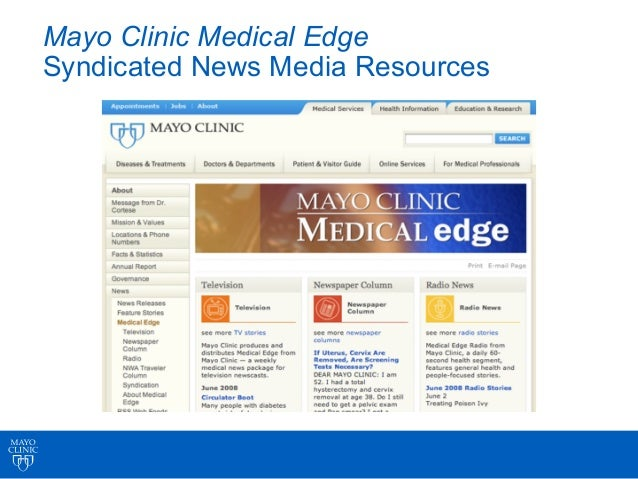 • Existing Medical Edge radio mp3s • Launched Sept. '05 • Downloads increased 8,217% Oct. vs. Aug.
