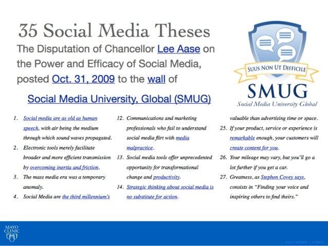 ©2011 MFMER   slide-40 A Catalyst for Social Media