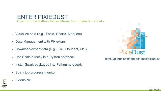 Taking Jupyter Notebooks and Apache Spark to the Next Level