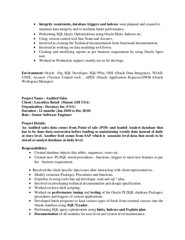 Safetysoftware.us  Production Support Resume