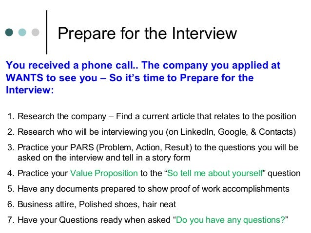 6 prepare for the interview you - Do You Have Any Questions For Me Interview Question And Answers