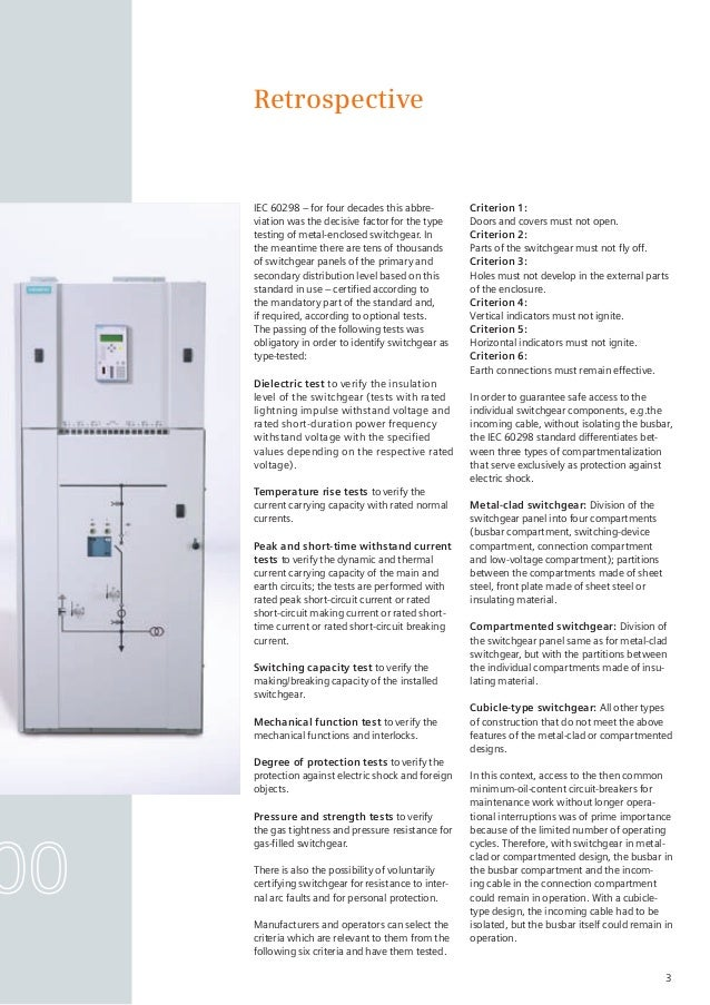 High-voltage switchgear and controlgear