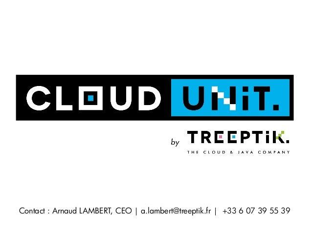 Contact : Arnaud LAMBERT, CEO   a.lambert@treeptik.fr   +33 6 07 39 55 39