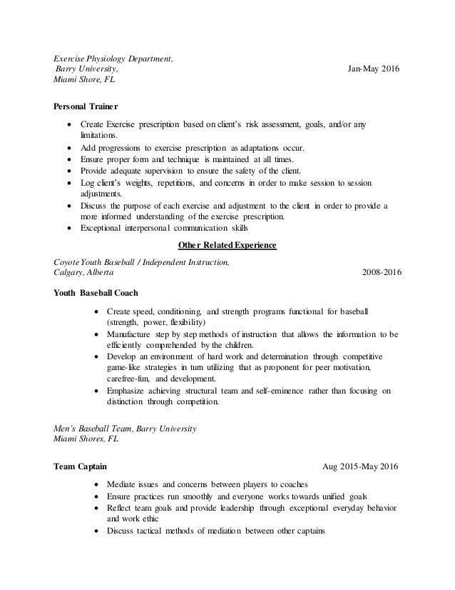 Fine Team Resume Exercise Component - Example Resume Ideas ...