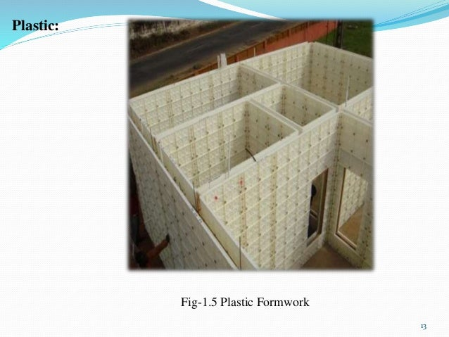 Different Types of Formwork Syetem Used within Indian Construction Inu