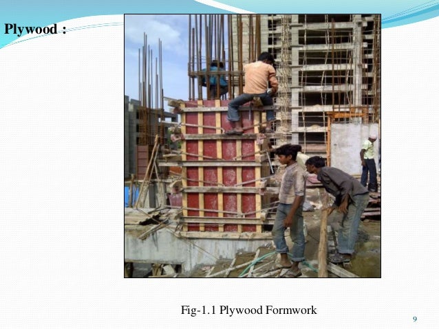 Application  Comparison of different Formwork System used witu
