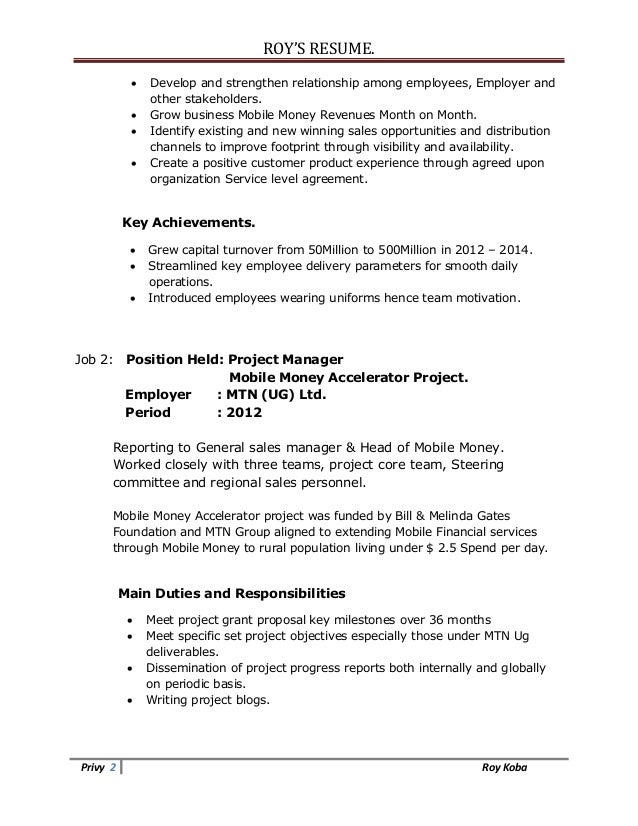 Resume Help Dates In Resume How To List Chronology In Your CV  Bill Gates Resume