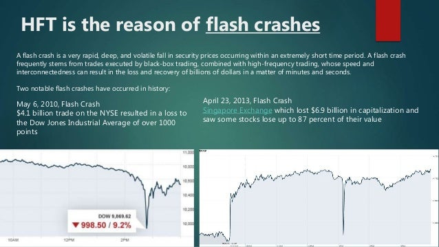 Flash crash forex