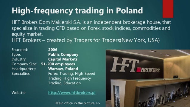 Forex high frequency trading broker