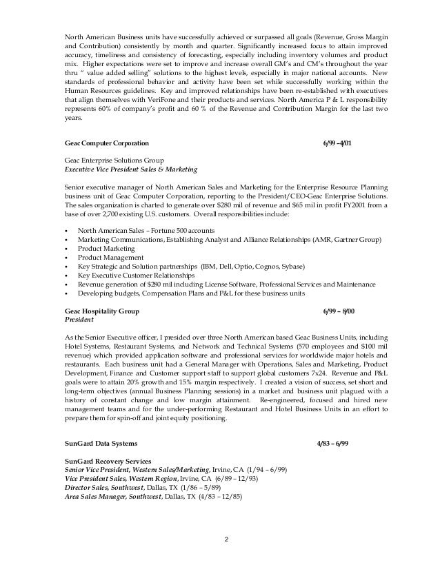 Vice President Of Sales Resume Samples VisualCV Resume Samples Aploon  Randal Davis Resume New Home Sales