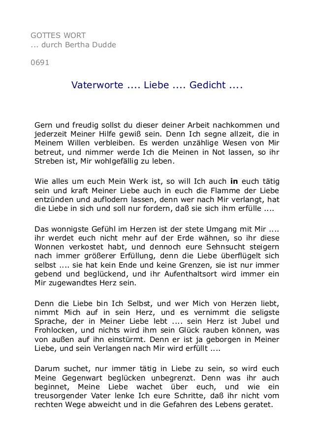 0691 vaterworte liebe gedicht - Weihnachts liebesgedichte ...