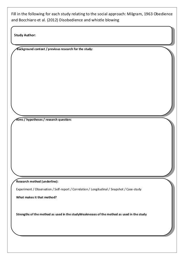 Bocchiaro et al. Study Flashcards   Quizlet