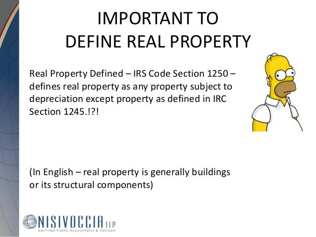 What Is Section 1245 Property Definition 28 Images
