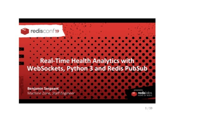 Real Time Health Analytics With WebSockets Python 3 and