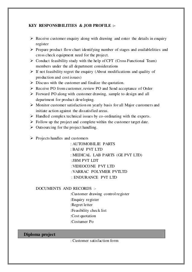 project engineer resume goolappa 1