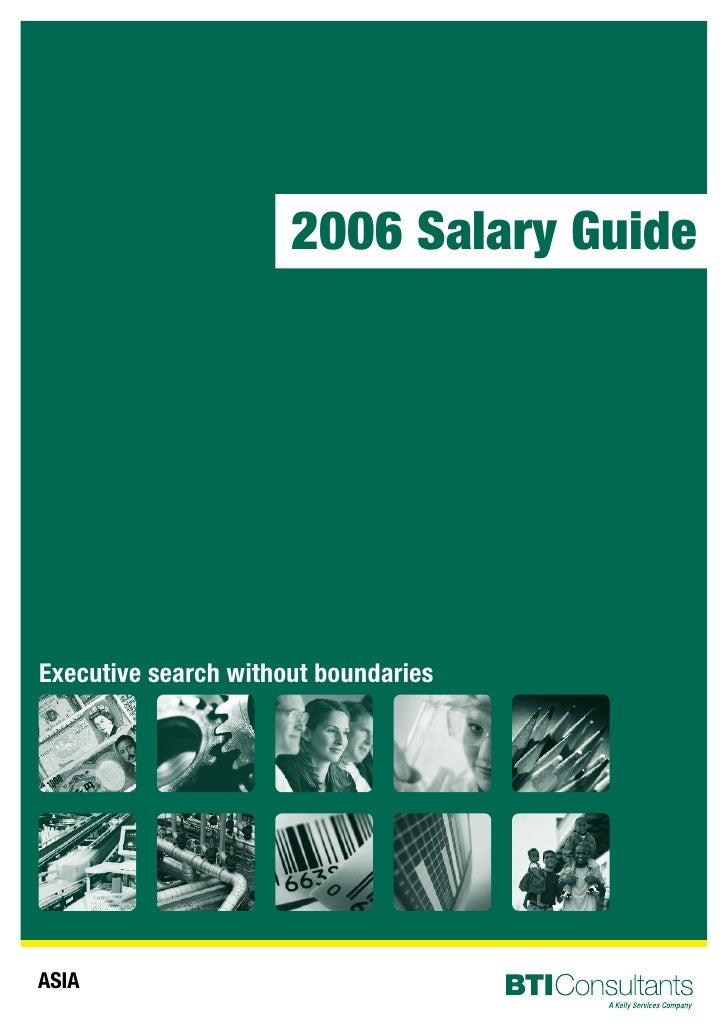 2006 Salary Guide     Executive search without boundaries     ASIA