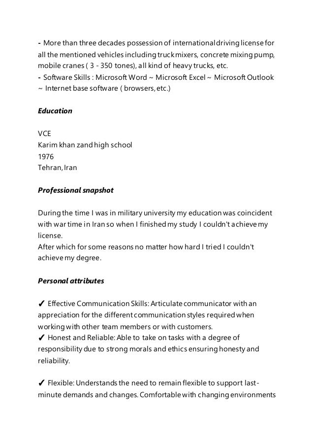 father u0026 39 s english resume