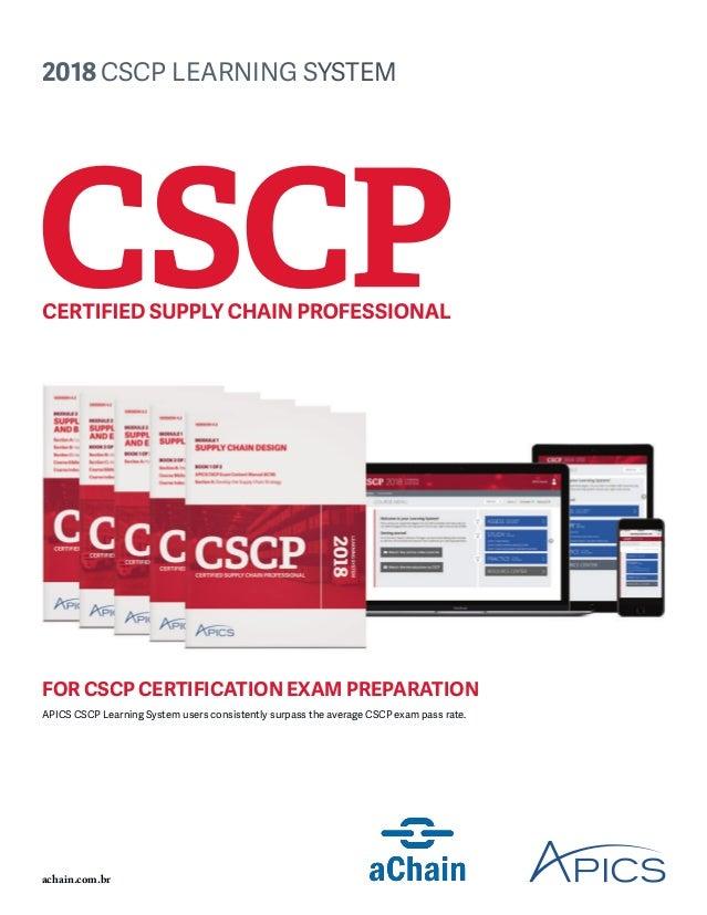 Cscp 2018 Achain Apics Brasil Brochura Learning System