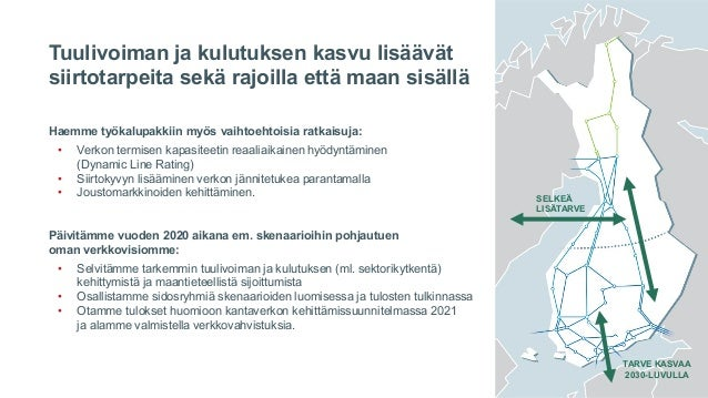Fingrid Current: Kolme skenaariota Itämeren alueen sähköjärjestelmän kehityksestä. Jussi Jyrinsalo
