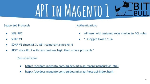 Magento 2 Seminar - Andra Lungu - API in Magento 2