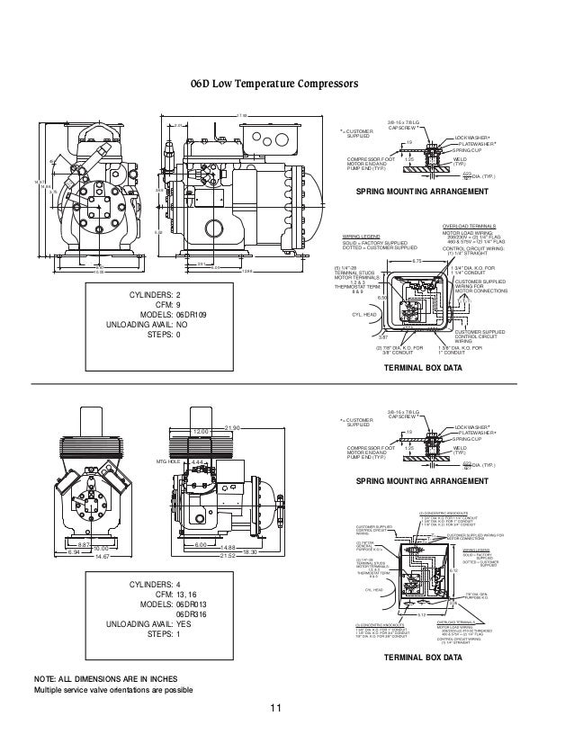 Carlyle Compressor Wiring Diagram : E compressor terminal wiring diagrams best site
