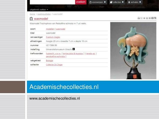 Academischecollecties.nlwww.academischecollecties.nl