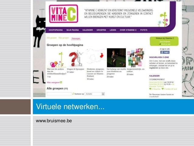 Virtuele netwerken...www.bruismee.be