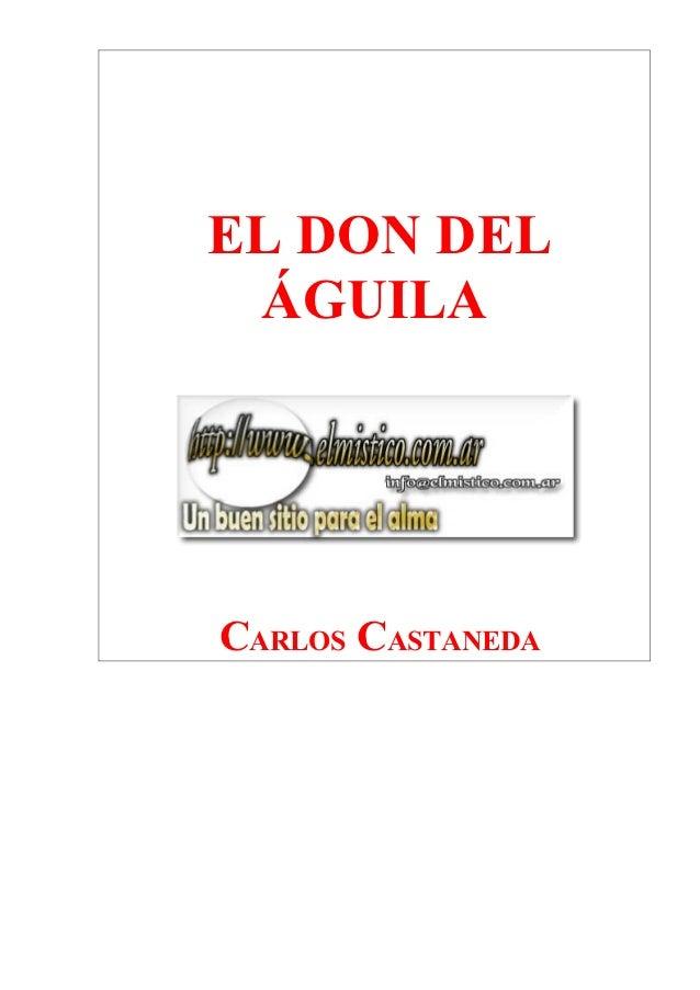 EL DON DEL ÁGUILACARLOS CASTANEDA